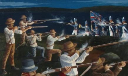 Battle of Sodus Point Mural