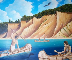 Native-Americans-Fishing-450x380
