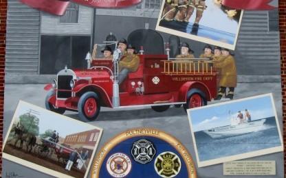 Williamson Firemen Mural