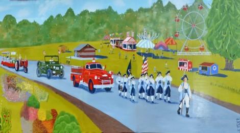 Festival in the Park Mural