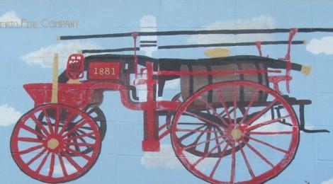 Ontario Fire Department Mural