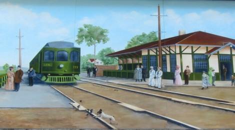 Trolley Mural