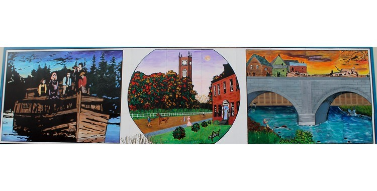 Canal Town Mural